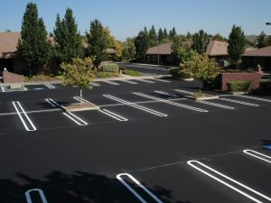 Asphalt Parking Lot Repairs and Installation in Lake Anna